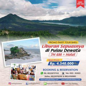 Paket Tour Bali 7 Hari 6 Malam (7D/6N)