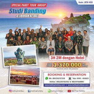 Paket Kunjungan Kerja / Studi Banding di Bali
