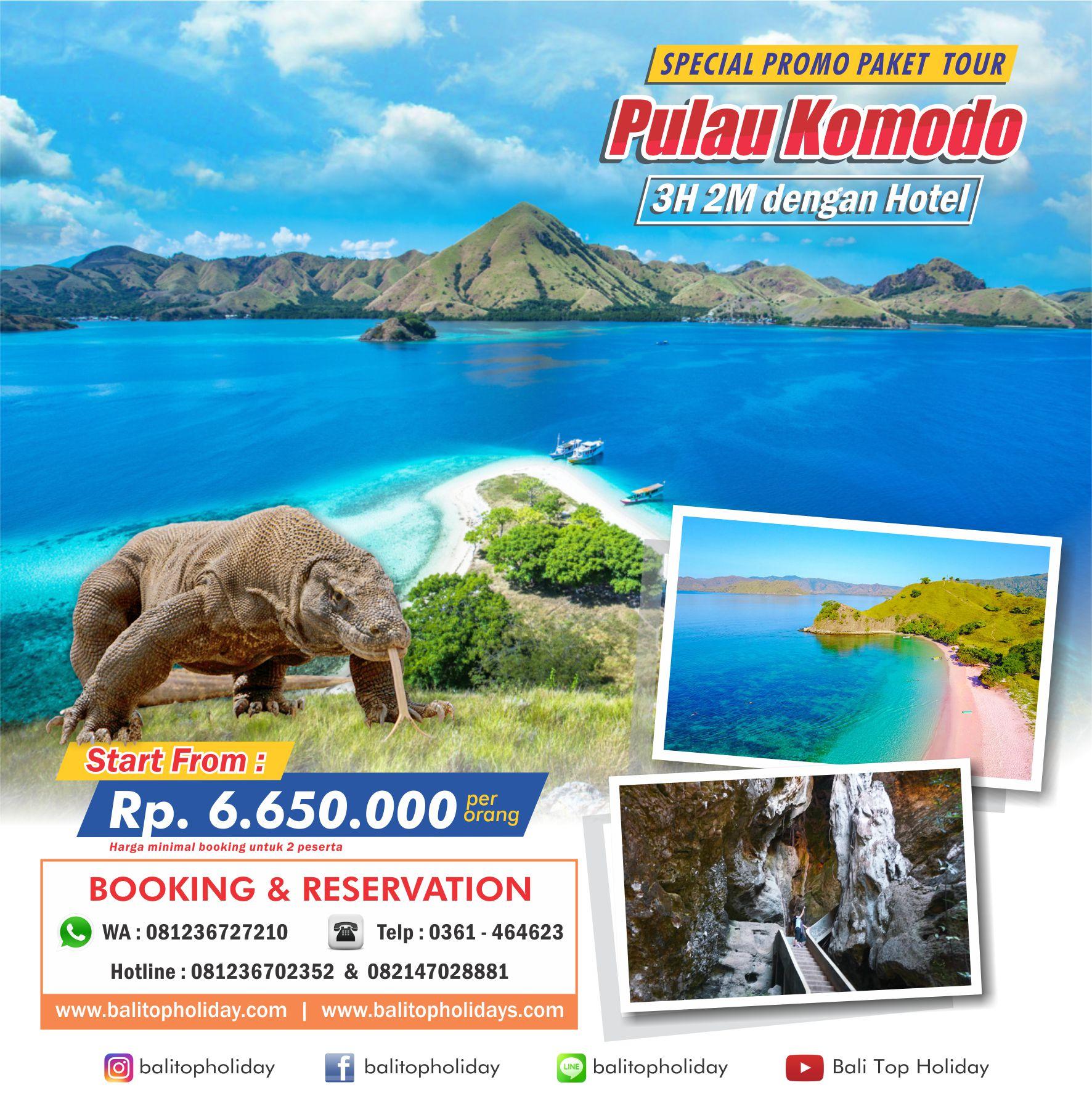 Paket Tour Pulau Komodo 3H2M 1