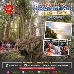 Paket Tour Bali 4 Hari 3 Malam (Special 2020)