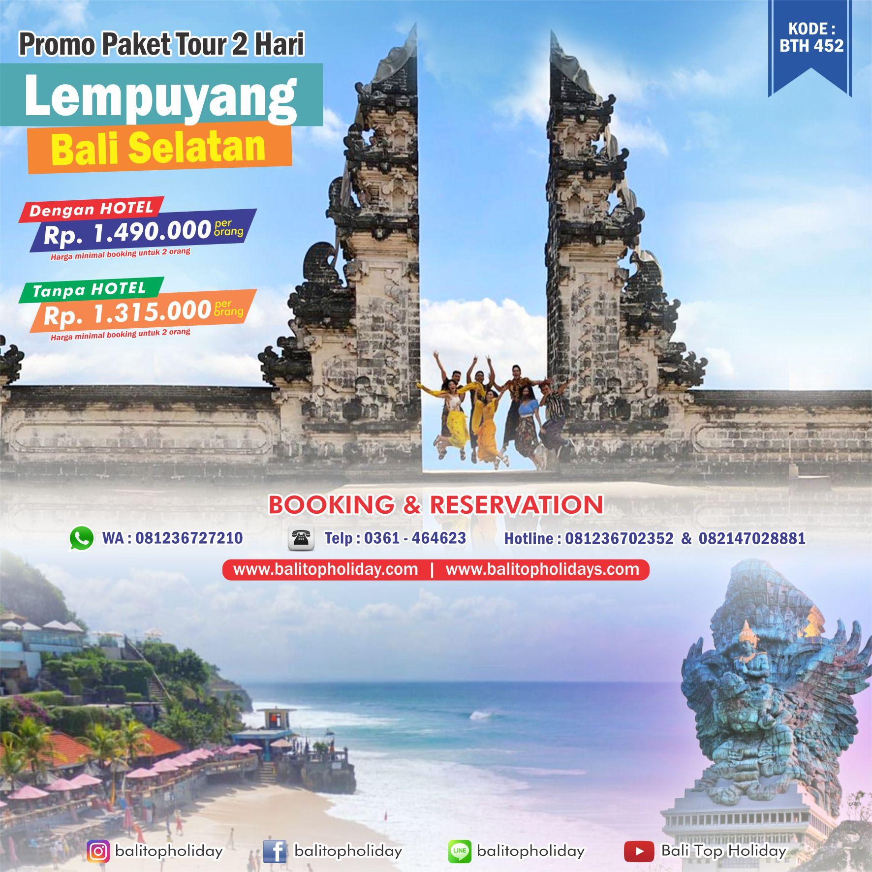Paket Tour Bali 2 hari 1 Malam Lempuyang Bali Selatan