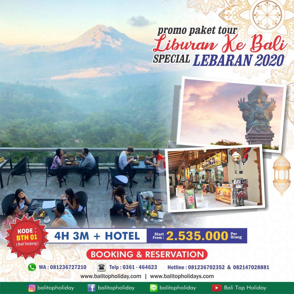 Paket Tour Lebaran 2020 di Bali