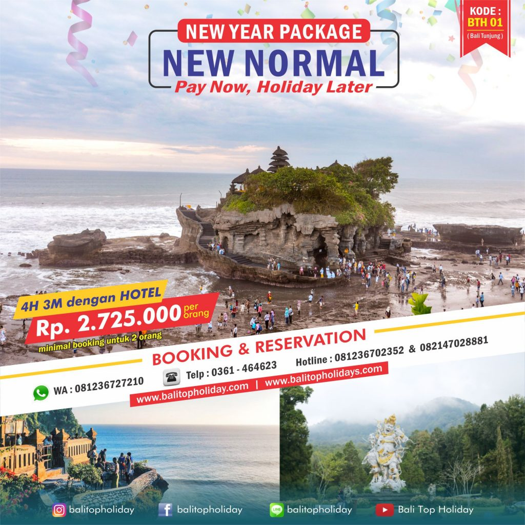 Paket Tour Bali Akhir Tahun 2020