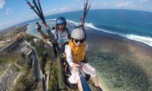 paragliding di Bali